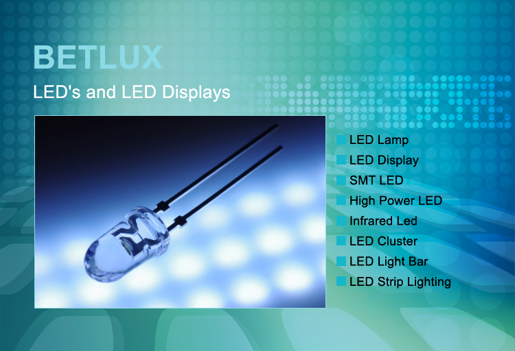 BETLUX LED's and LED Displays