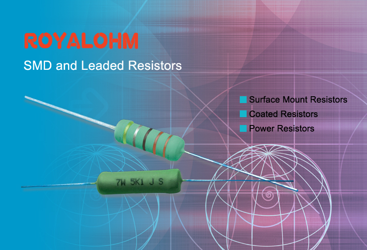ROYALOHM SMD and Leaded Resistors